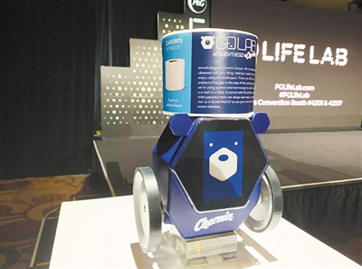 近观CES展会上的Pt:厕所机器人能送手纸...