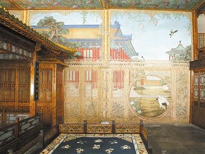 故宫倦勤斋通景画中神奇的光影戏法 体现了东西方文化和艺术的交流与融合