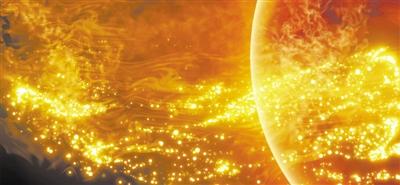 太阳日冕中首次直接观测到扭转阿尔芬波