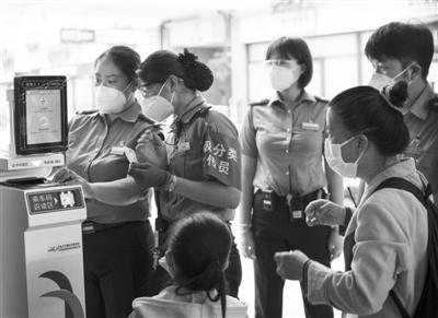 进一步提升客运服务质量 电子客票实现无接触检票进站